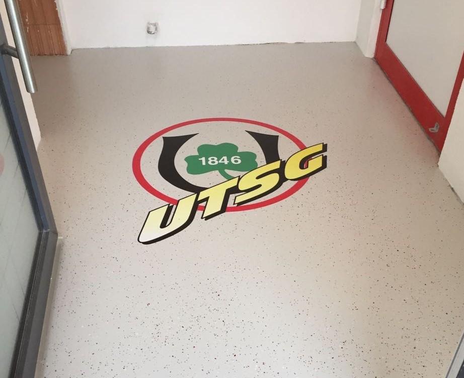 Bodentattoo Triflex Bodenbeschichtung