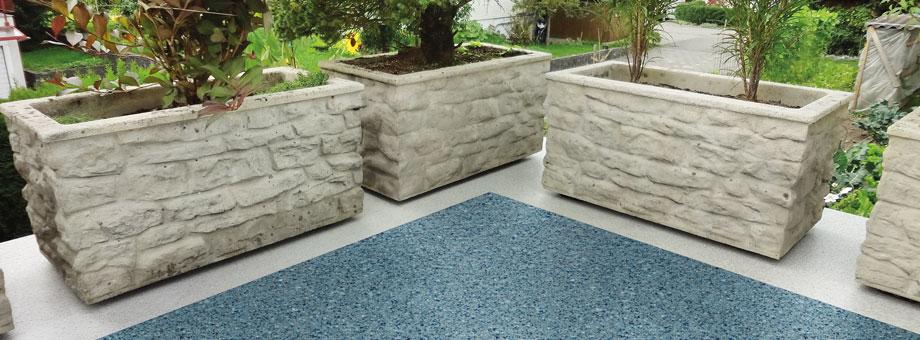 Terrasse Triflex Bodenbeschichtung Muster